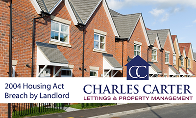 Landlord Fined for Letting Property with H&S Problems!