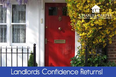Landlords Confidence Returns!