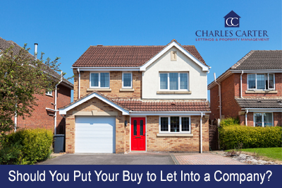 Should You Put Your Buy to Let Into a Company?