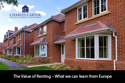 The Value of Renting – What we can learn from Europe