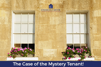 The Case of the Mystery Tenant!