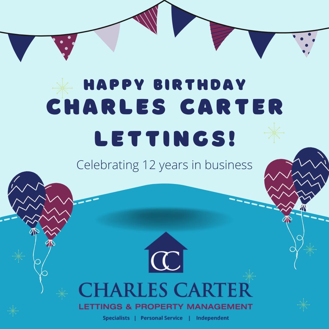 Charles Carter Anniversary